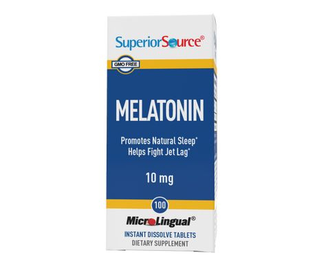 Superior Source Melatonin 10 mg With Chamomile