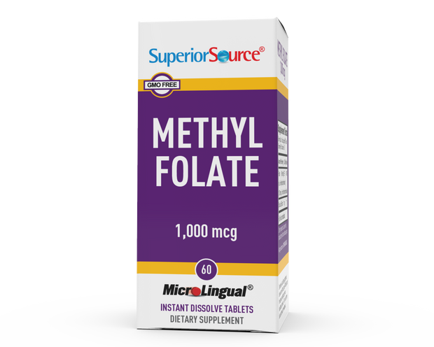 Superior Source Methylfolate 1,000 mcg