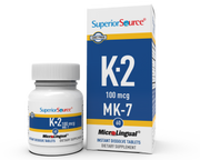 Superior Source Vitamin K-2 100 mcg (MK-7)
