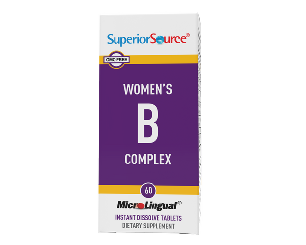 Superior Source Women's B Complex with B-12 1,000 mcg