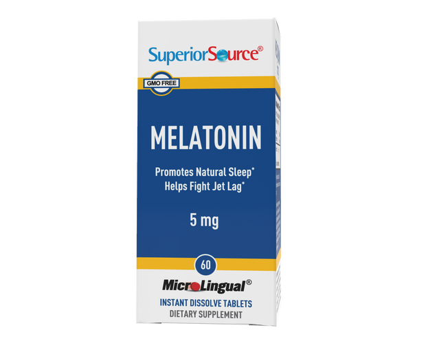Superior Source Melatonin 5 mg With Chamomile