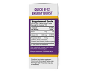 Superior Source NO SHOT Quick Energy Burst B-12 1,000 mcg