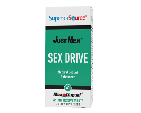 Superior Source Just Men – Sex Drive (Supports Healthy Libido*)