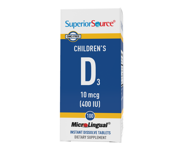 Superior Source Children's D3 400 IU