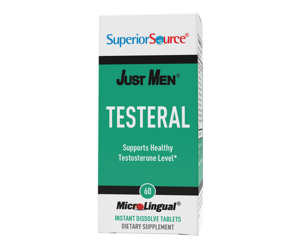 Superior Source Just Men – Testeral (supports healthy testosterone levels*)