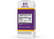 Superior Source NO SHOT Methylcobalamin B-12 2,500 mcg