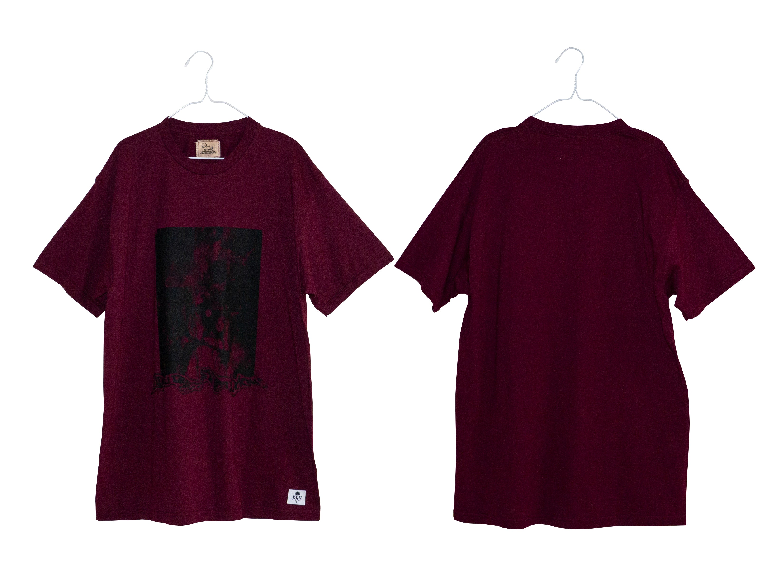 BPD x Self Deconstruction TEE (WINE RED)