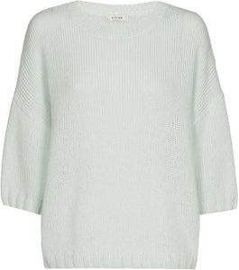 PULL GROEN GIGUE  (LEU 344/73) - Delaere Womenswear