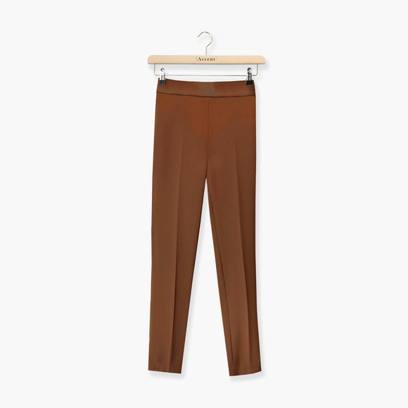 BROEK BRUIN ACCENT FASHION  (SPACE 9011 CAMEL) - Delaere Womenswear