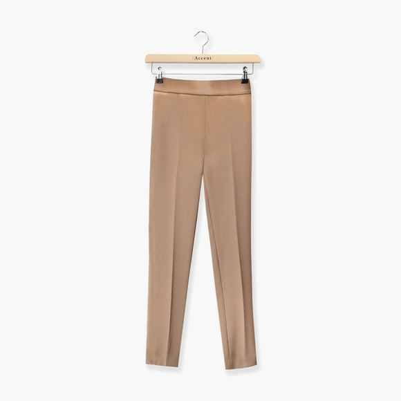 BROEK BRUIN ACCENT FASHION  (SPACE 9011 WARM TAUPE) - Delaere Womenswear