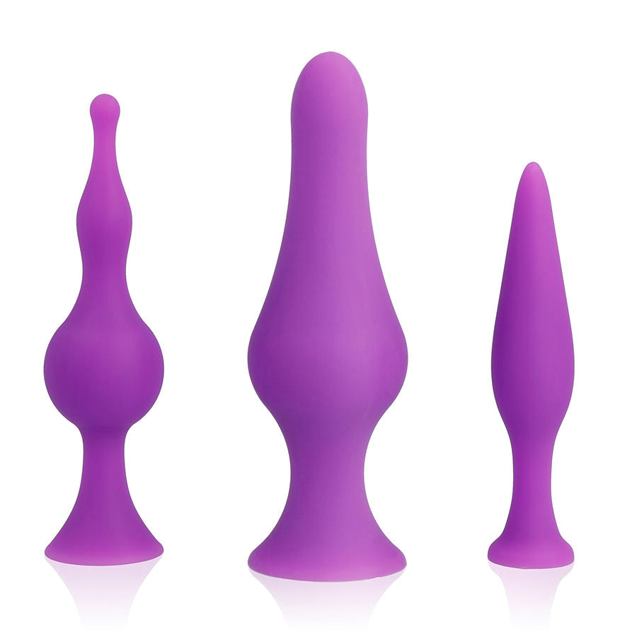 Spirit Training Anal Plugs - Violet