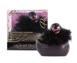 I Rub My Duckie 2.0 PARIS - Noir