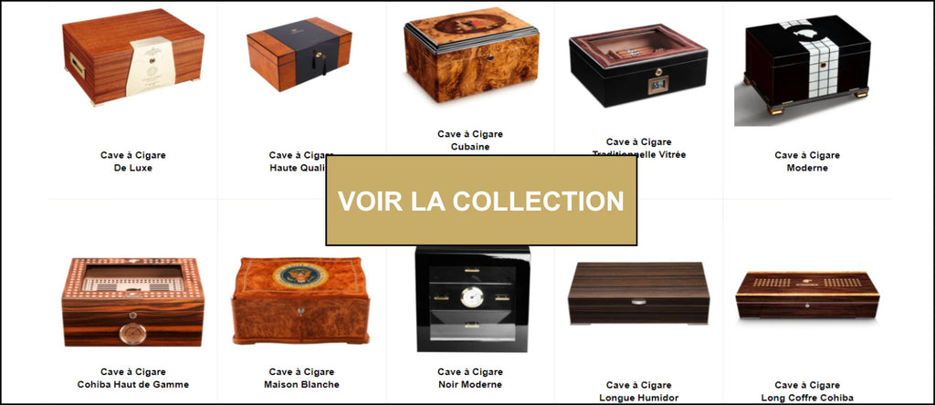 Collection caves à cigares