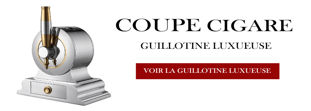 Coupe Cigare Guillotine Luxueuse