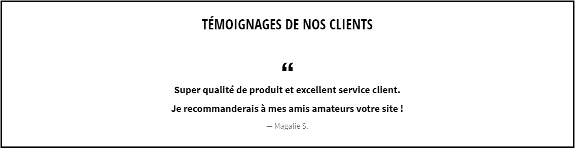 Témoignage de Magalie + Shop Cigares