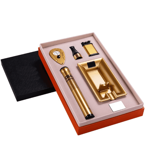 Coffret Cigare Or Luxueux
