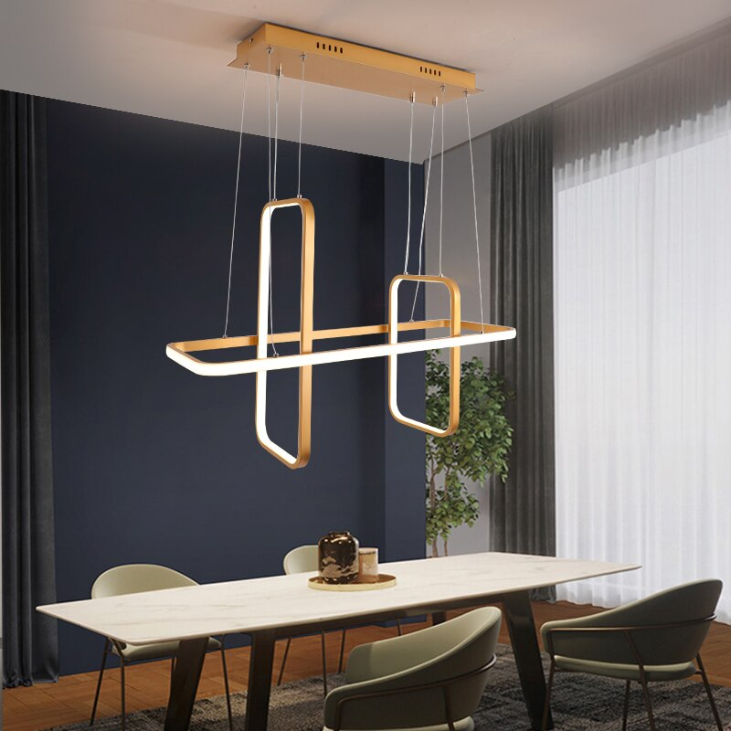 Nordic Modern LED pendant lights Matte black/white/gold finished - Fun Tech Gifts
