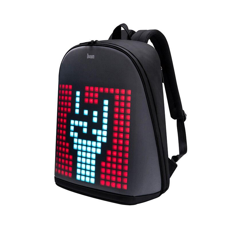 Pixel Art Backpack w/ Customizable Lighted LED Screen W/Phone App and Games - Fun Tech Gifts