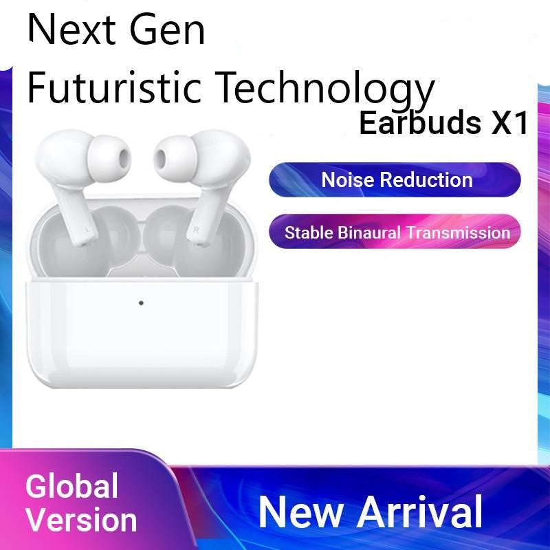 Next Gen Tech X1 Wireless Bluetooth 5.0 Earbuds w/ 24hr Playtime - Fun Tech Gifts