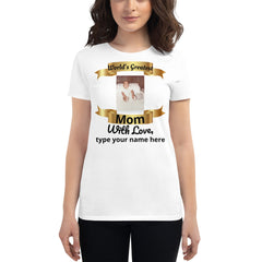 New Moms /  Mother's Day short sleeve t-shirt - Fun Tech Gifts