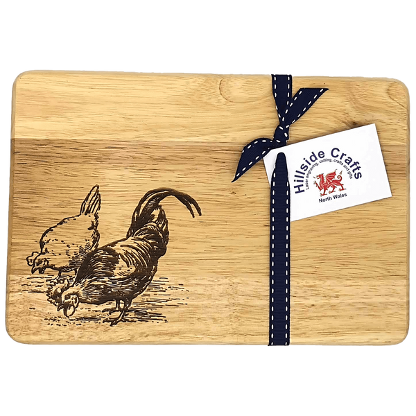 """Clara & Cecil"" Chicken Chopping Board"
