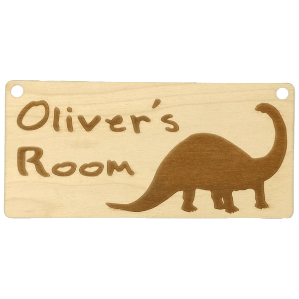 Dinosaur Door Sign