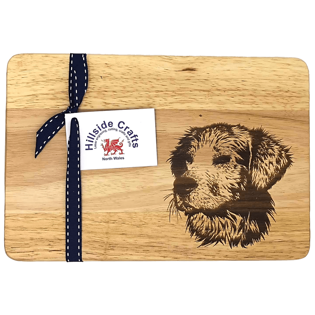 Dog Chopping Board - Hillside Crafts