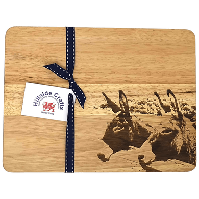 Donkey Chopping Board - Hillside Crafts