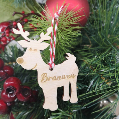 Reindeer Christmas Decoration - Hillside Crafts