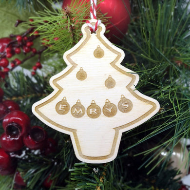 Christmas Tree Christmas Decoration - Hillside Crafts