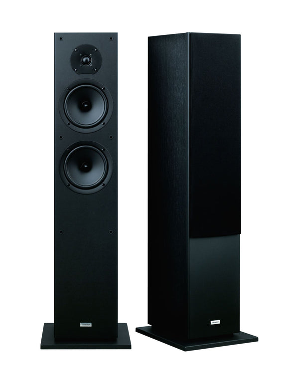 ONKYO SKF4800B Floor standing Front Speakers . 2x 16cm cone woofers. 1x 2.5cm dome tweeter. Banana plug speaker posts. Woofer equalizer enables fast accurate response. Colour Black