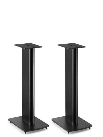 KEF Performance Speaker Stands For KEF Bookshelf Speakers. Colour Black. Sold As Pair.