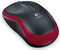 Logitech M185 USB Wireless Compact Mouse - Red