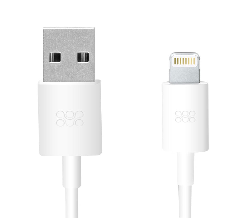 PROMATE 1.2m MFi USB cable. Apple certified sync & charge, USB to Lightning connector. Works with Lightning supported Apple Devices.
