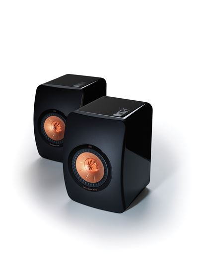 KEF LS50 Innovative Professional Studio Monitor Speakers. Colour Black. SOLD AS PAIR