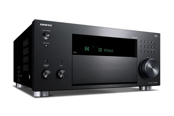 ONKYO TXRZ3400B 11.2 Channel 3 Zone Network AV Receiver.