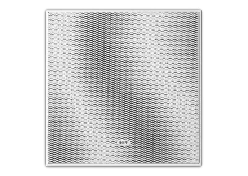 KEF CI200RS-THX Extreme Home Theatre 8'' Square In-Ceiling Speaker. THX Ultra2 certified.