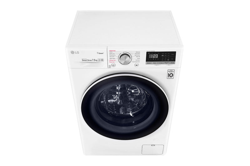 LG 7.5kg Front Load Washing Machine with Steam * Free Delivery *
