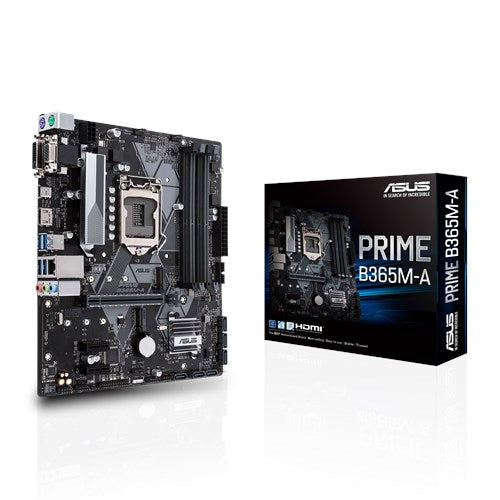 ASUS PRIME B365M-A INTEL COFFEE LAKE SOCKET 1151 4XDDR4-2666 PCI-E3.0 USB3.1 SATA3 M.2 HDMI/DVI-D/VGA