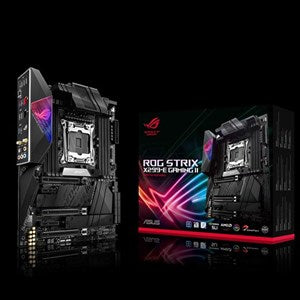 ASUS ROG STRIX X299-E GAMING II INTEL X299 SOCKET 2066 INTEL X-SERIES ATX 8XDDR4-4266 PCI-E3.0 M.2 SATA3 RAID USB 3.2