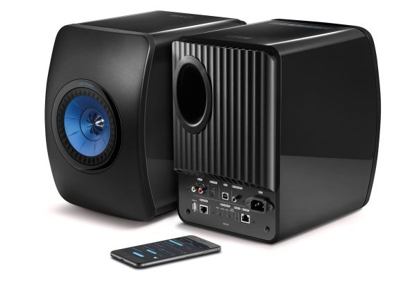KEF LS50 Wireless Professional Studio Monitor Speakers. Colour Black. SOLD AS A PAIR