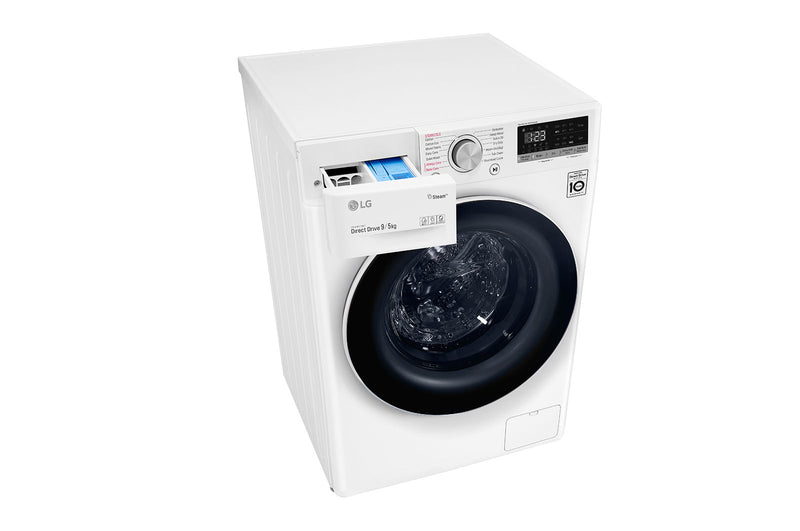 LG 9kg/5kg Front Load Washer Dryer Combo with Steam * Free Delivery Nationwide * Price Matched