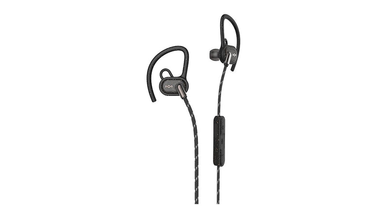 MARLEY UPRISE BT BLUETOOTH WIRELESS EARPHONES - BLACK