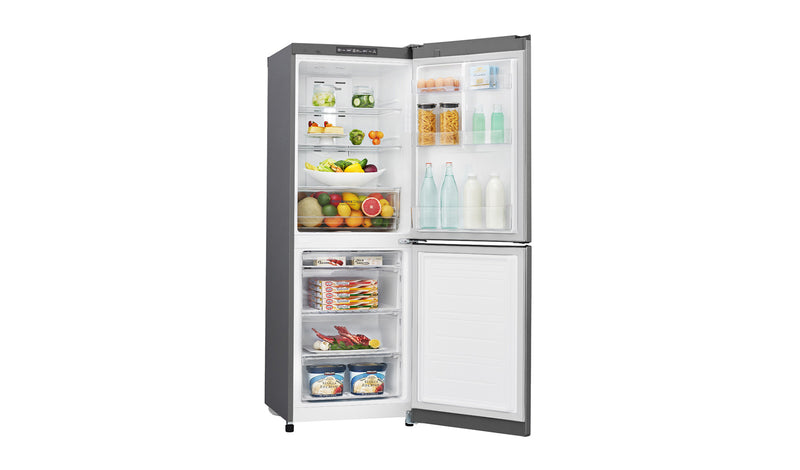 LG 310L Anti-fingerprint Shiny Steel Bottom Mount Fridge * FREE DELIVERY NATION WIDE *