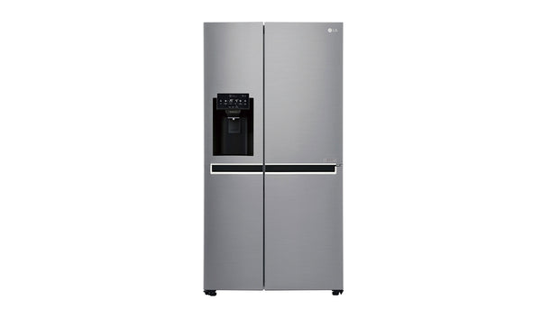LG 668L Side by Side with Non Plumbed Ice & Water Dispenser Stainless finish * Free Delivery Nation wide * Price Matched
