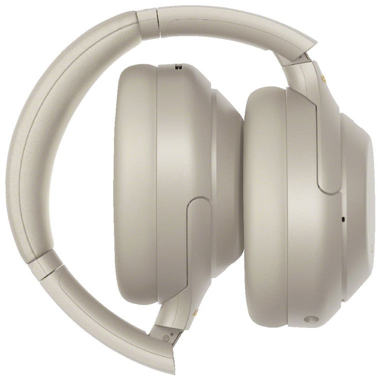 Sony WH-1000XM4 Wireless Over-Ear Noise-Cancelling Headphones - Silver