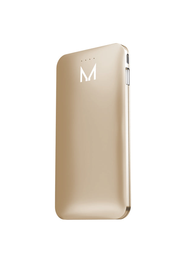 Moyork LUMO 5000 mAh Power Bank - Dubai Gold