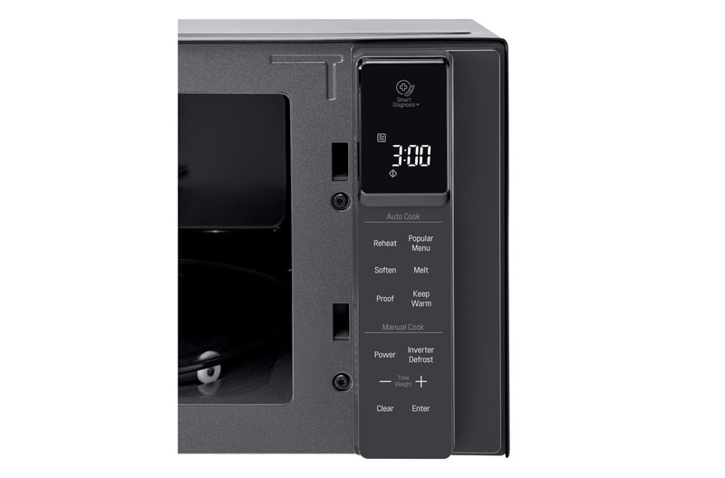 LG NeoChef 25L Smart Inverter Microwave Oven in Black