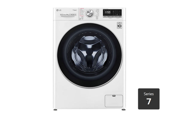 LG 9kg Front Load Washing Machine with Steam+