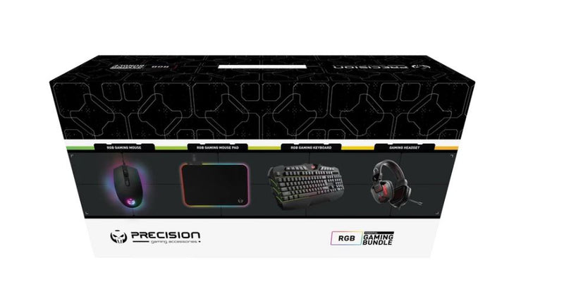 Corsair PRECISION GAMING BUNDLE, HEADPHONE, KEYBOARD, MOUSE AND MOUSE MAT